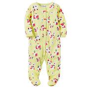 Carter's Girl Yellow Footed Sleep-N-Play