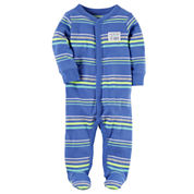 Carter's Boy Green Footed Sleep-N-Play