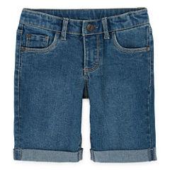 Arizona Denim Bermuda Shorts - Toddler Girls 2t-5t