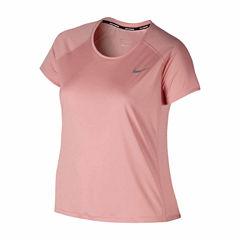 Nike® Miler Short-Sleeve Running Tee - Plus