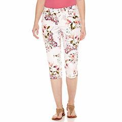 St. John's Bay Cropped Pants-Talls