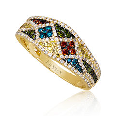 LIMITED QUANTITIES Le Vian Grand Sample Sale 5/8 CT. T.W. Multicolor Diamond Ring