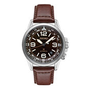 Seiko Prospex Mens Brown Strap Watch-Srpa95