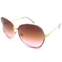 Fantas Eyes Oversized Round Sunglasses