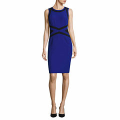 Worthington Sleeveless Sheath Dress-Talls
