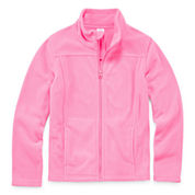 City Streets Girls Lightweight Fleece Jacket-Big Kid