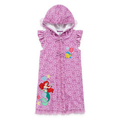 Disney Girls Disney Princess Solid Dress-Big Kid