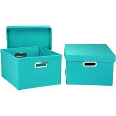 Household Essentials® 2-Piece Side Storage Bin Set