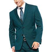 JF J. Ferrar® Teal Suit Jacket - Slim Fit