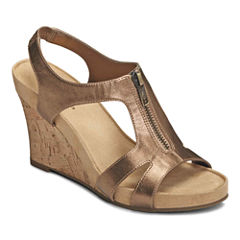 A2 by Aerosoles® Dream Plush Wedge Sandals