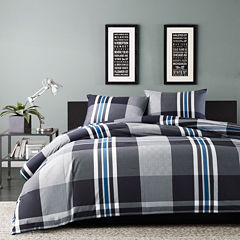 INK+IVY Nathan Plaid Comforter Set