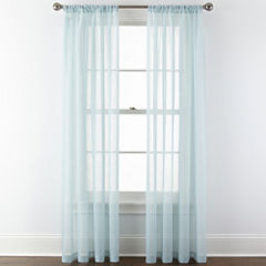 Royal Velvet® Crushed Voile Sheer Window Treatments