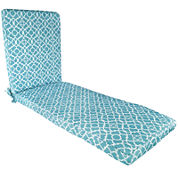 Waverly® Lovely Lattice Chaise Lounge Outdoor Cushion