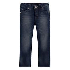 Levi's® Heart-Print Skinny Jeans – Toddler Girls 2t-4t
