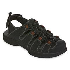 St. John's Bay Norman Mens Strap Sandals