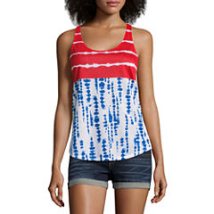 4th of July Racerback Tank- Juniors