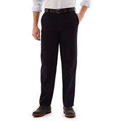 St. John's Bay® Worry Free Relaxed-Fit Flat-Front Pants