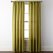 JCPenney Home™ Rialto Rod-Pocket/Back-Tab Curtain Panel