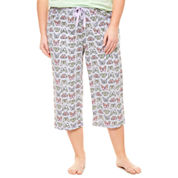 Sleep Chic Jersey Pajama Pants-Plus