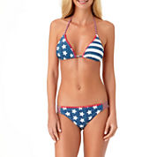 Arizona Star Triangle Swimsuit Top or Hipster Bottom-Juniors