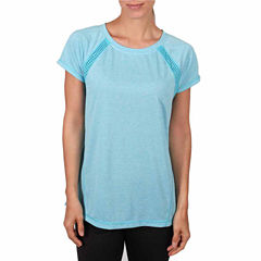 Jockey Short Sleeve Round Neck T-Shirt-Womens