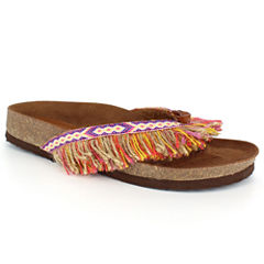 Just Dolce By Mojo Moxy Corey Womens Flat Sandals
