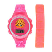 Shopkins Girls Multicolor Strap Watch-Kin4014jc