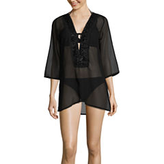 Suhani Solid Swimsuit Cover-Up Dress