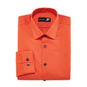 J.Ferrar Easy-Care Solid - Big & Tall Long Sleeve Dress Shirt