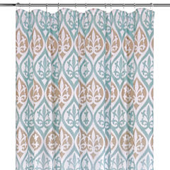 Colordrift Cadance Printed Shower Curtain