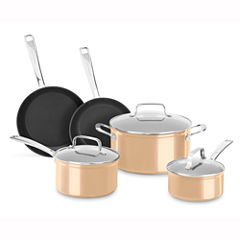 Kitchen Aid 8-pc. Hard Anodized Non-Stick Cookware Set