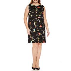 Worthington® Sleeveless Shift Dress - Plus