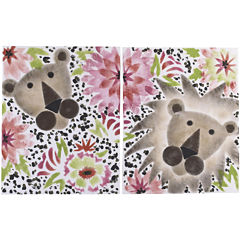 Cotton Tale Here Kitty Kitty 2-pc. Wall Art