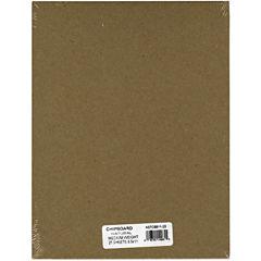 Medium Weight Chipboard Sheets - Natural 8.5X11