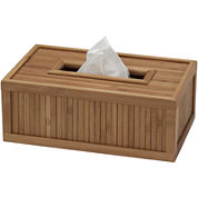 Creative Bath™ Eco Style Bamboo Rectangular Tissue Holder