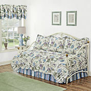 Waverly® Charleston Chirp Larkspur 5-pc. Reversible Daybed Cover Set & Accessories