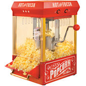 Nostalgia Electrics™ Old Fashioned Kettle Popcorn Maker