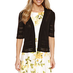 Liz Claiborne Elbow Sleeve Shrug