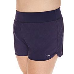 Nike Solid Swim Shorts Plus