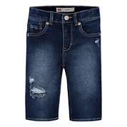 Levi's Denim Bermuda Shorts - Preschool Girls