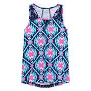 Arizona Crochet Inset Tank Top - Girls' 7-16