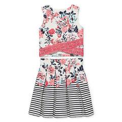 Knit Works Sleeveless Dress Set - Big Kid Girls