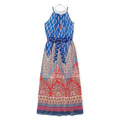 by&by girl Sleeveless Dress Set - Big Kid Girls Plus