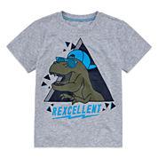 Okie Dokie Boys Graphic T-Shirt - Preschool 4-7