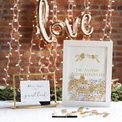 Cathy's Concepts Personalized Heart Drop Guestbook