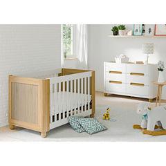 Status Roland 3-in-1 Convertible Crib - White