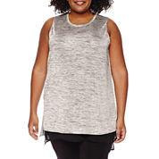 Worthington® Sleeveless Layered Tunic - Plus