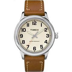 Timex Mens Brown Strap Watch-Tw2r227009j