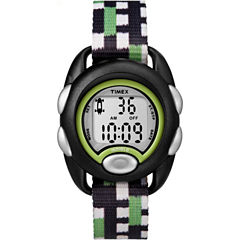 Timex Boys Black Strap Watch-Tw7c130009j