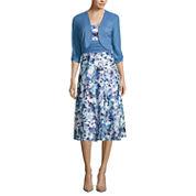 Perceptions 3/4 Sleeve Jacket Dress